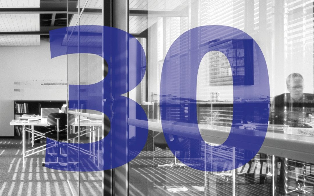 30. Firmenjubiläum